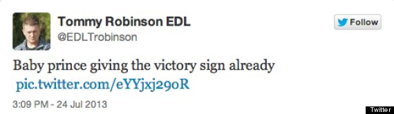 tommy robinson tweet