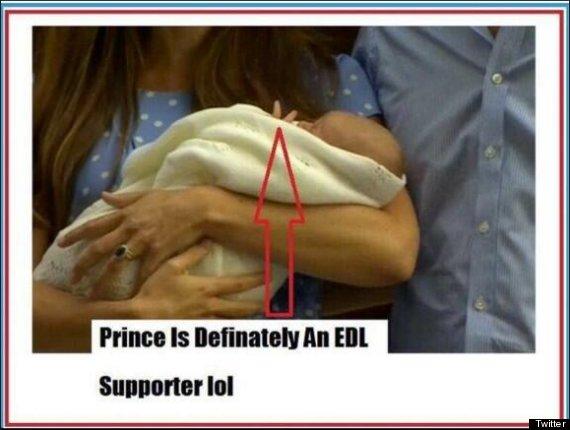 royal baby edl twitter