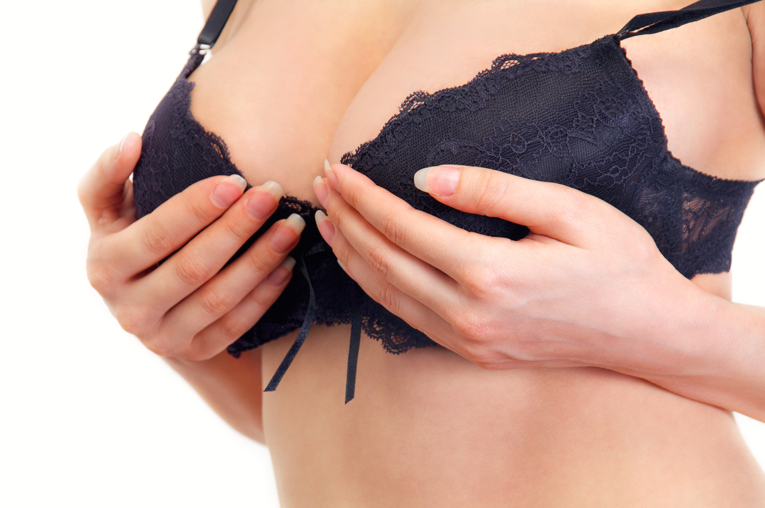 normal size breast