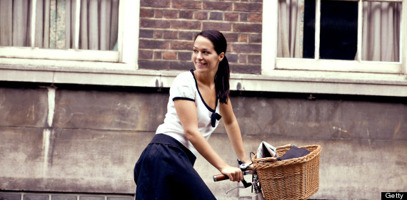 cycling woman uk