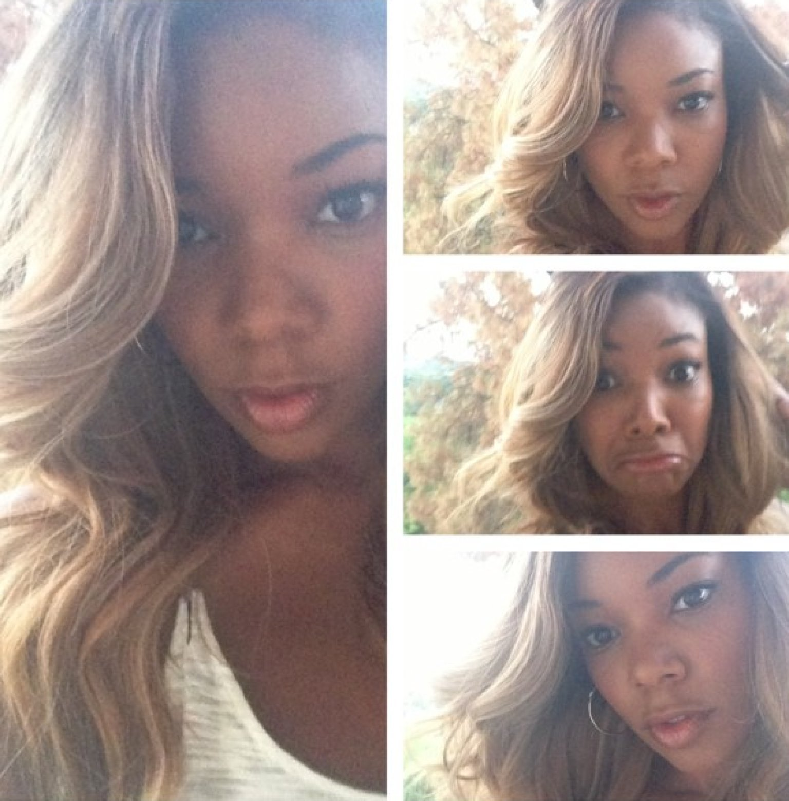 Gabrielle Union Blonde Hair Gabrielle Union's Blon...