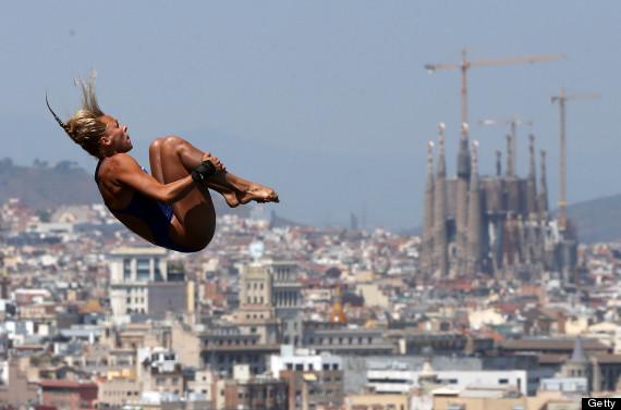 fina world championships diving barcelona