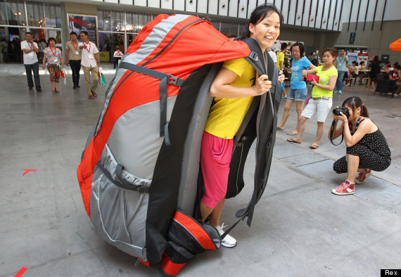worlds largest backpack