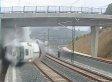 Spain Train Crash Video Shows Horrific Derailment (VIDEO)
