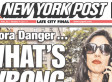 NY Post Cover Attacks Huma Abedin: 'What's Wrong With You?' (PHOTO)