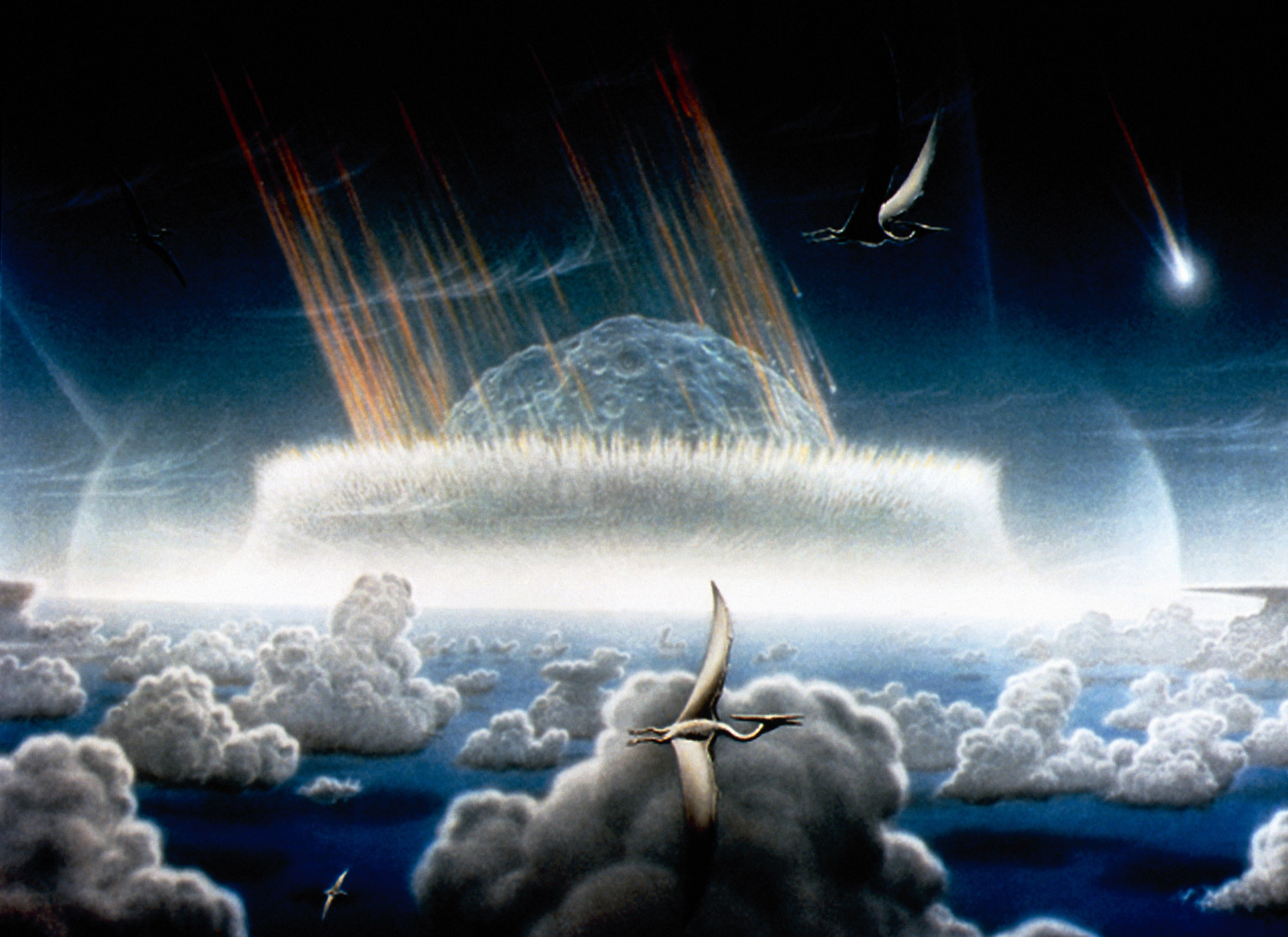 Dinosaur Extinction Event Research Helps Explain Why Some ...