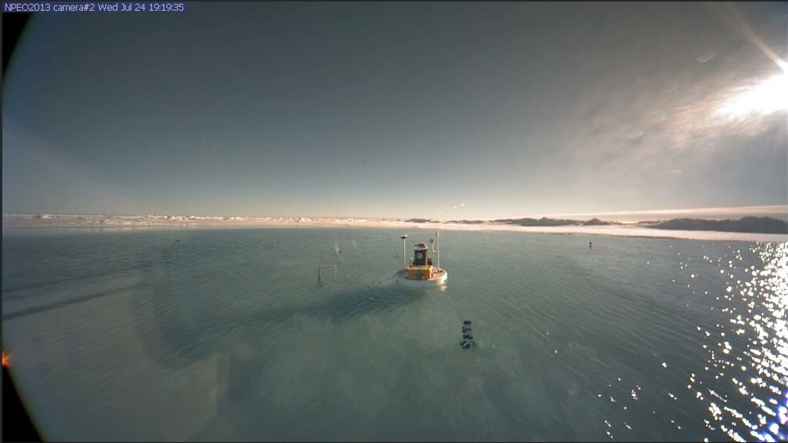 So, The North Pole Is Actually A Lake Right Now