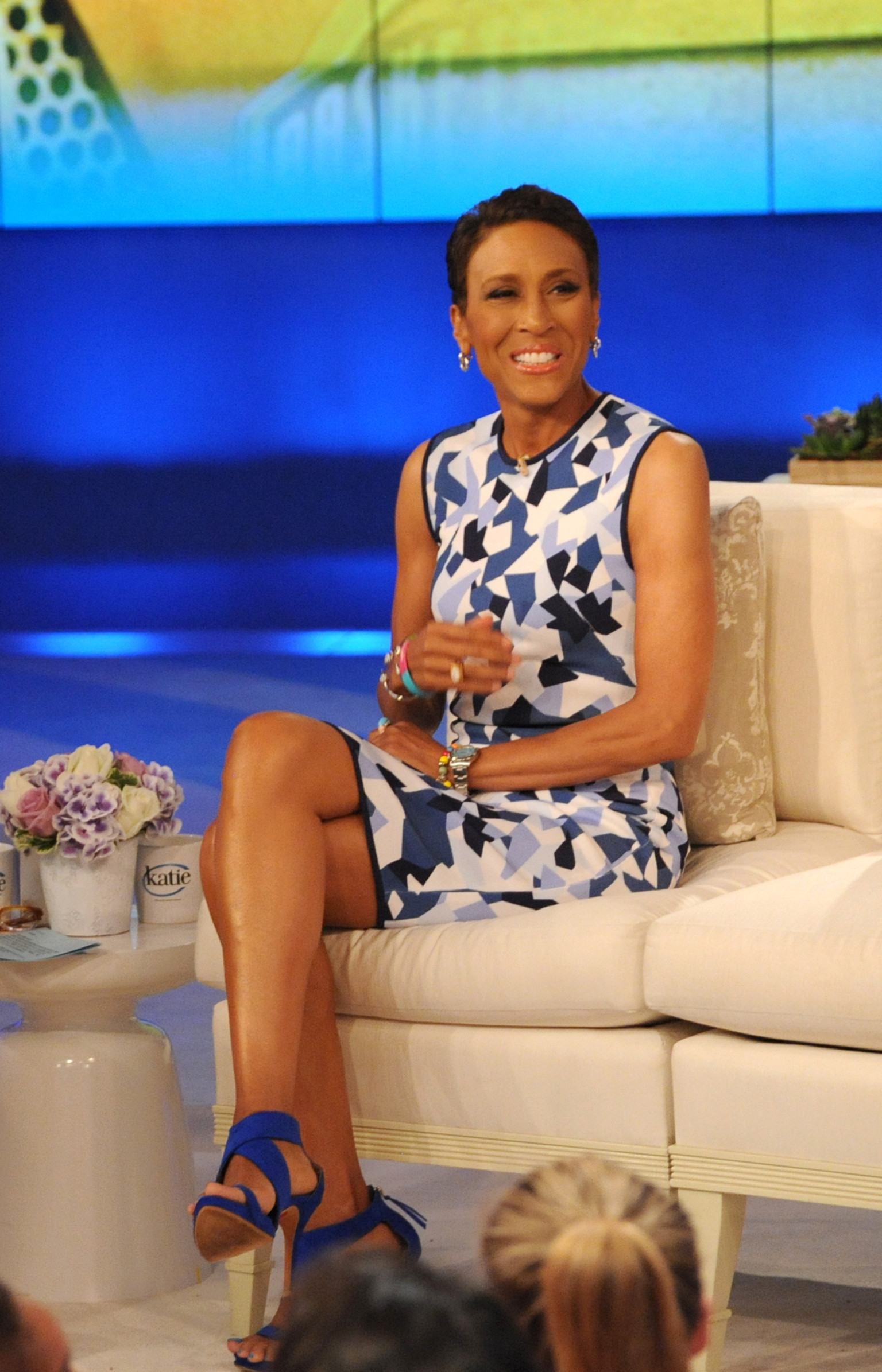 Good Morning America Home Invasion Interview : Robin roberts to return full time gma following labor