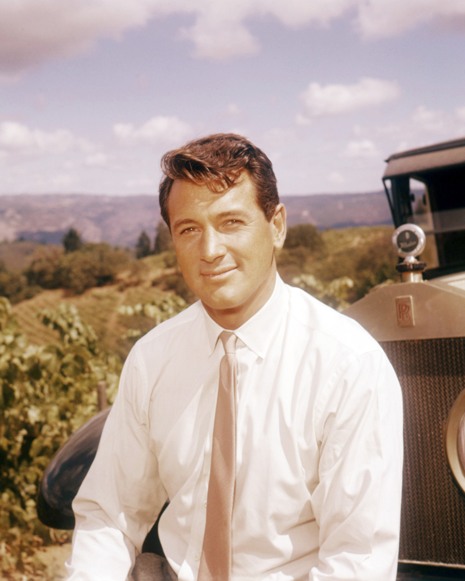 rock hudson height