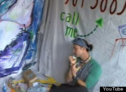 WATCH: Artist Lives In A Box For 7 Days