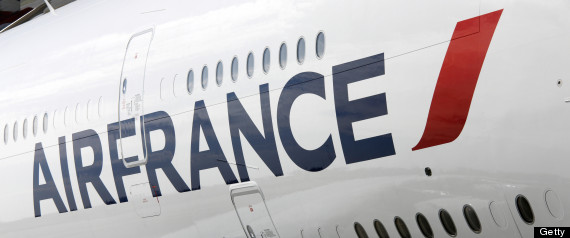 body falls from air france