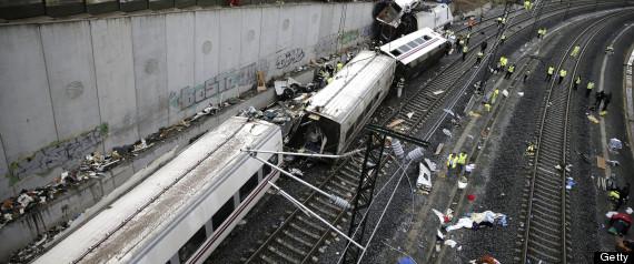 SPAIN TRAIN WRECK