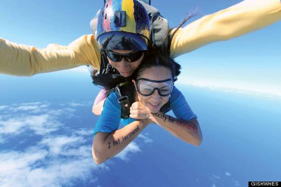 gishwhes skydiving
