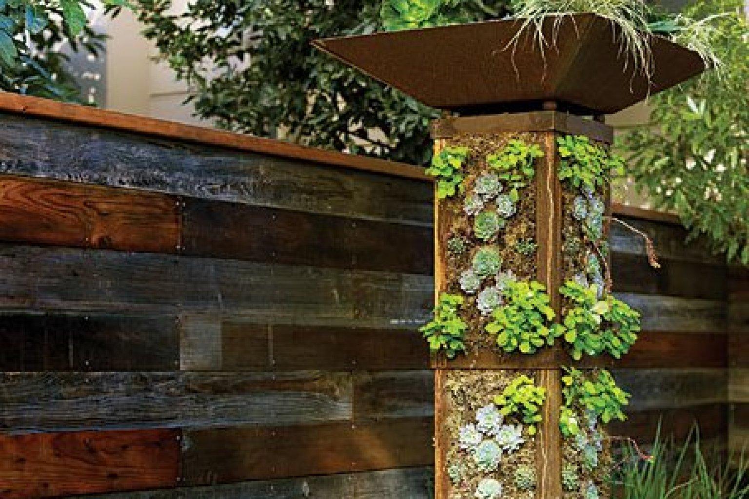Make A Vertical Garden Tower Huffpost