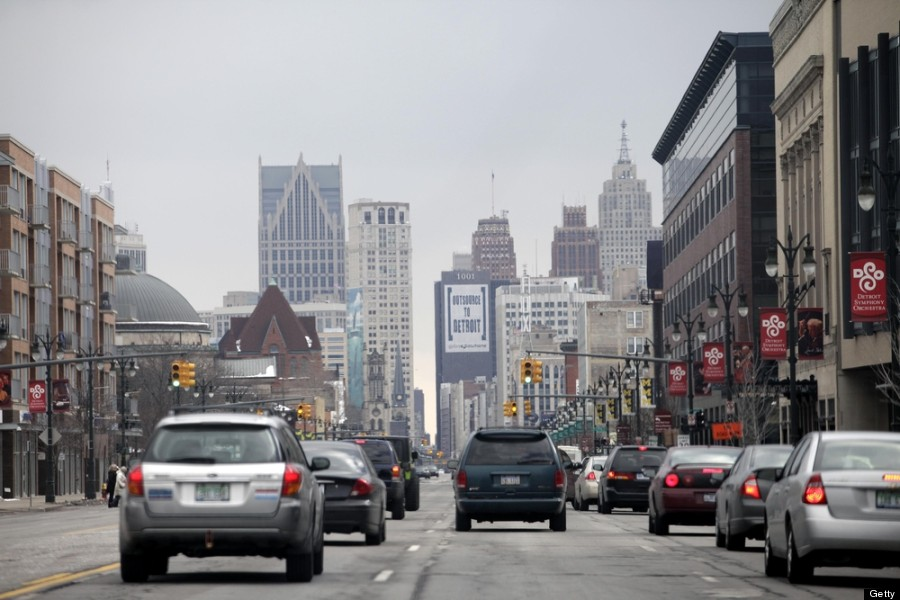 detroit traffic