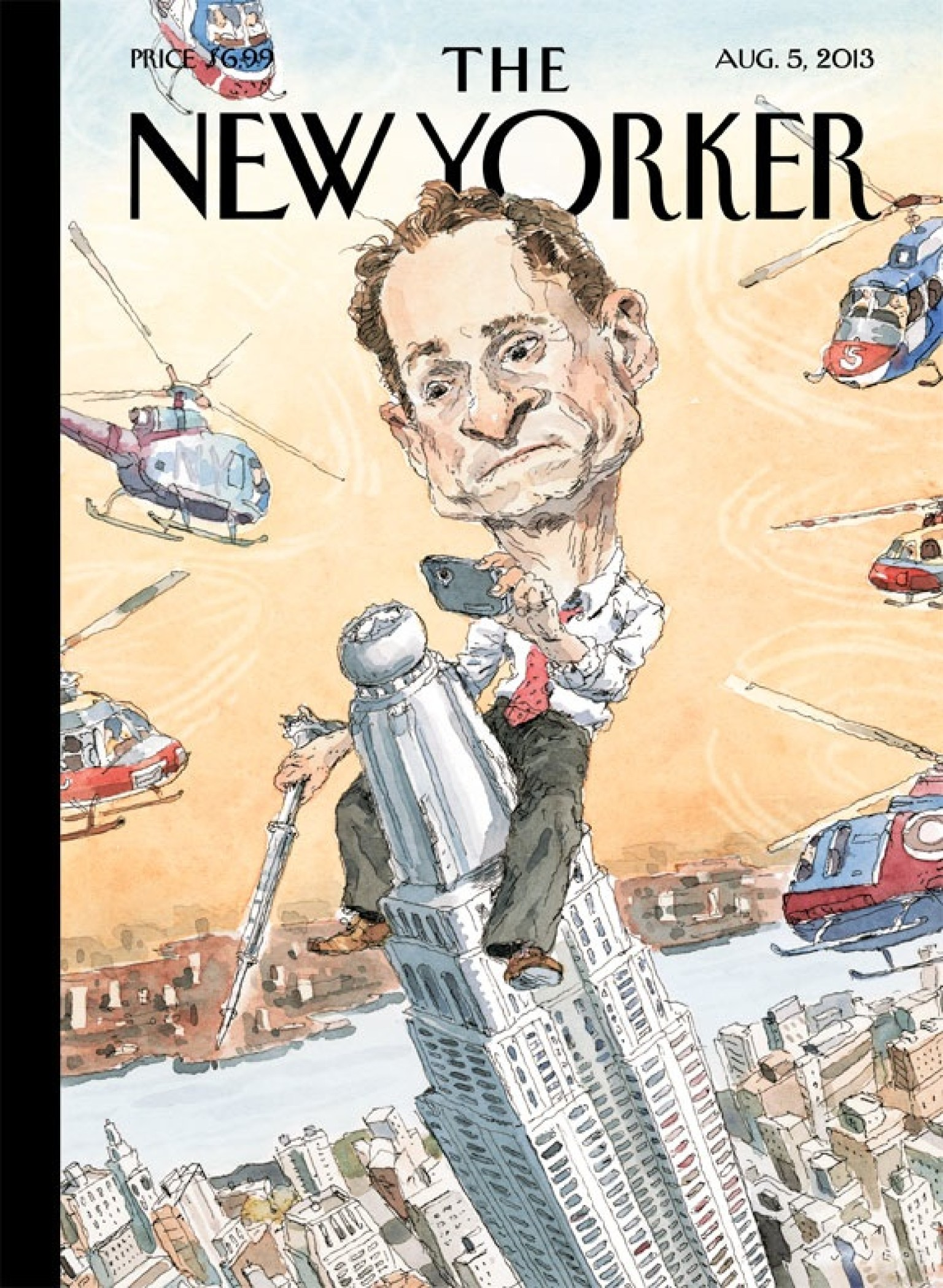 The New Yorker's Anthony Weiner Cover Is Spectacular ...