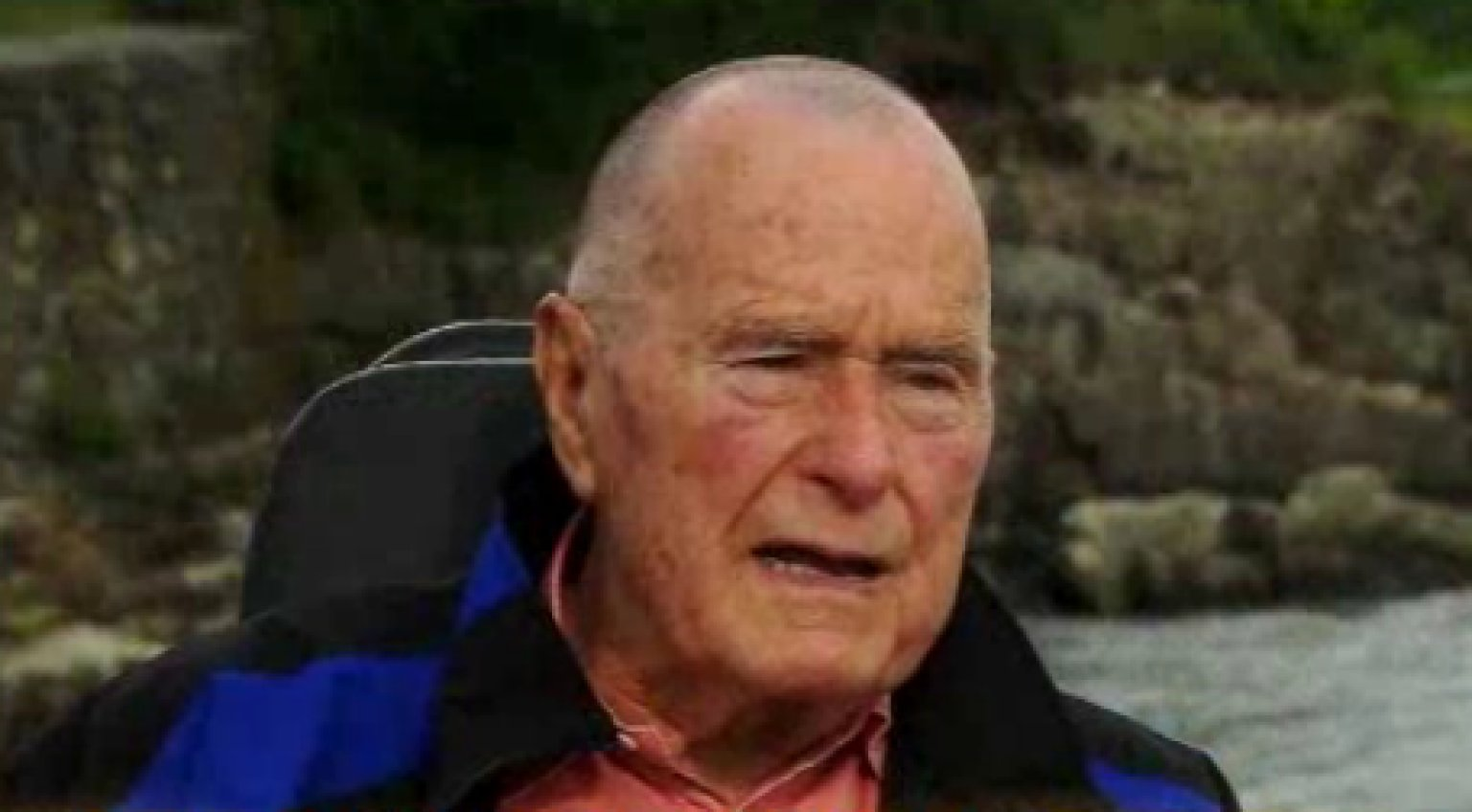George H.W. Bush On Shaving His Head: Agents Shaved Their ...