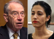 Chuck Grassley Steps Up Pressure On Huma Abedin Over State Department, Consulting Work