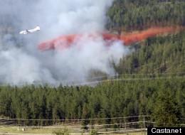 Wildfire Closes Kelowna Airport