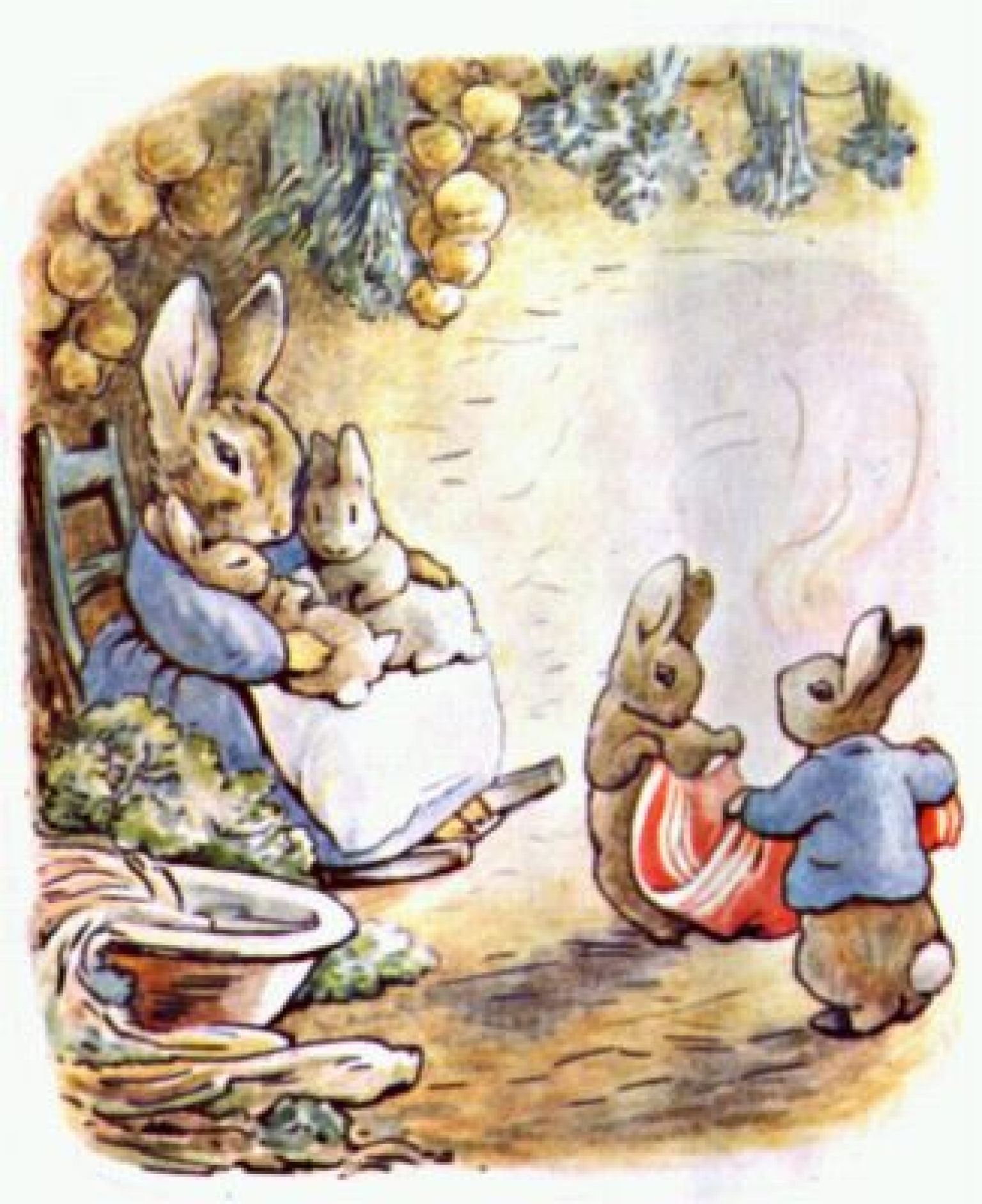 the tale of peter rabbit book report When mrs rabbit begs her four furry children to stay away from mr mcgregor's garden, the impish peter rabbit naturally takes this as an open invitation to create.