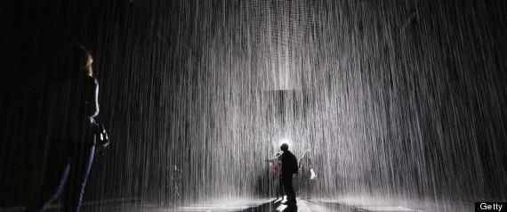 Rain Room's Last Week At MoMA Makes Kids Cry, Adults Bond ...