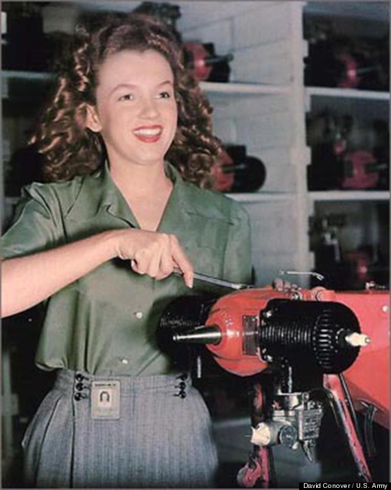 Marilyn monroe circa 1944 was a beaming beauty photos