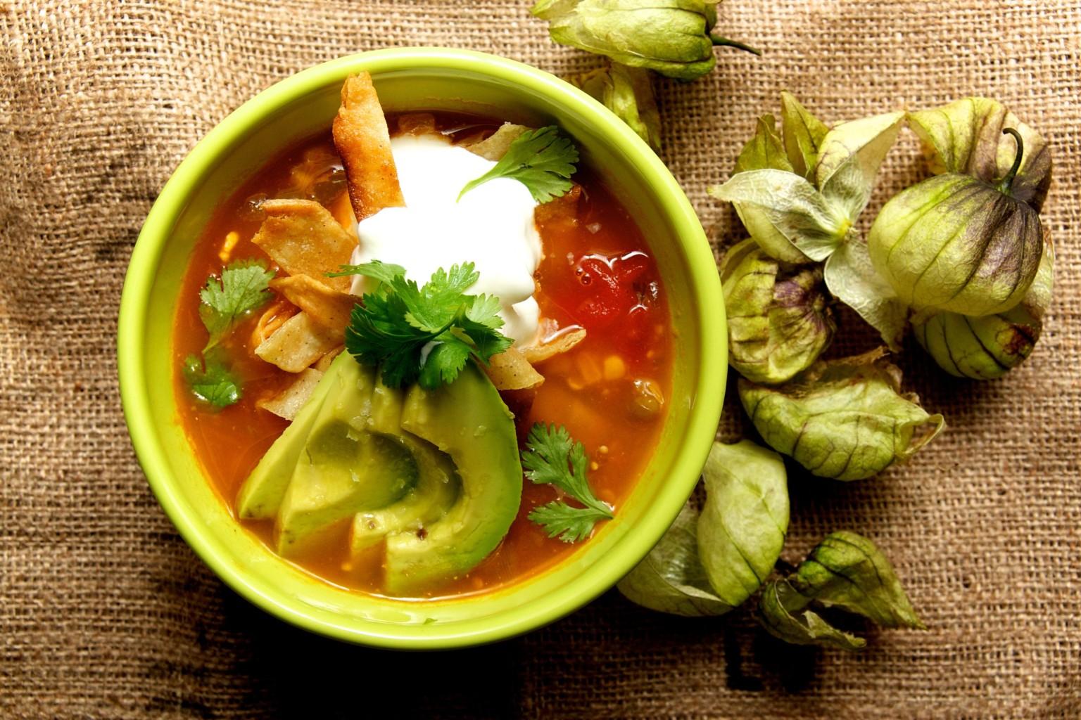 Tomatillo Recipes (P