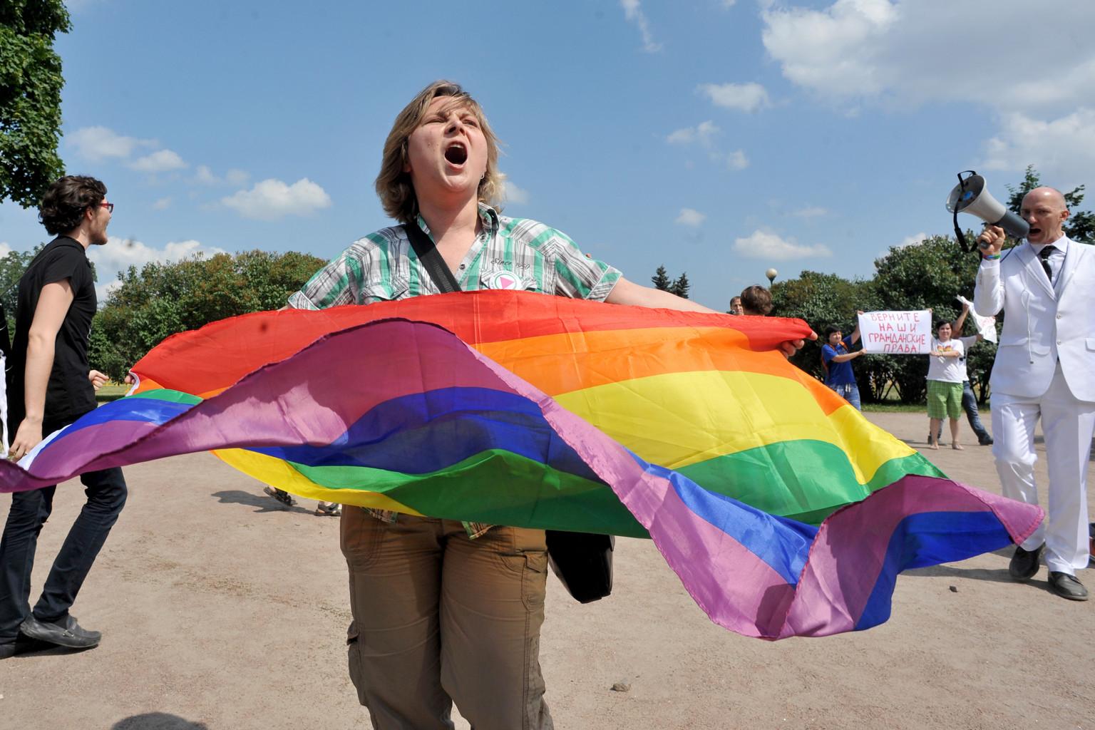Gay pride russie