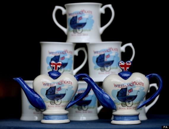 prince george teapot