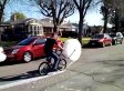 Bubble Wrap Bike Is Your New Favorite Invention (VIDEO)