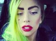 Lady Gaga Flaunts Fresh Face, Brunette Hair And Nose Ring At New York Benefit