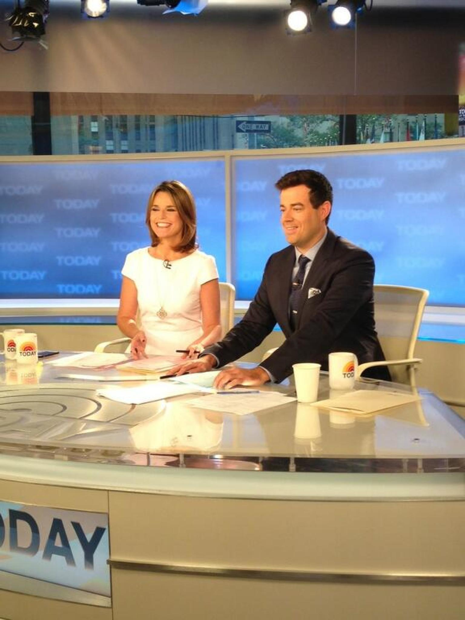 Carson Daly Fills In For Matt Lauer On The 'Today' Show ...