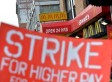 NYC Fast Food Strike: Workers Rally For Higher Wages, Right To Unionize