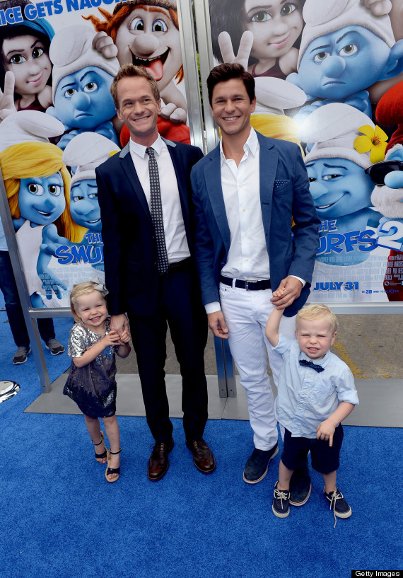 Neil Patrick Harris Kids With David Burtka Are Too Cute For Words Huffpost