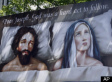 Controversial Billboard Of Joseph And Mary In Bed: God 'A Hard Act To Follow'