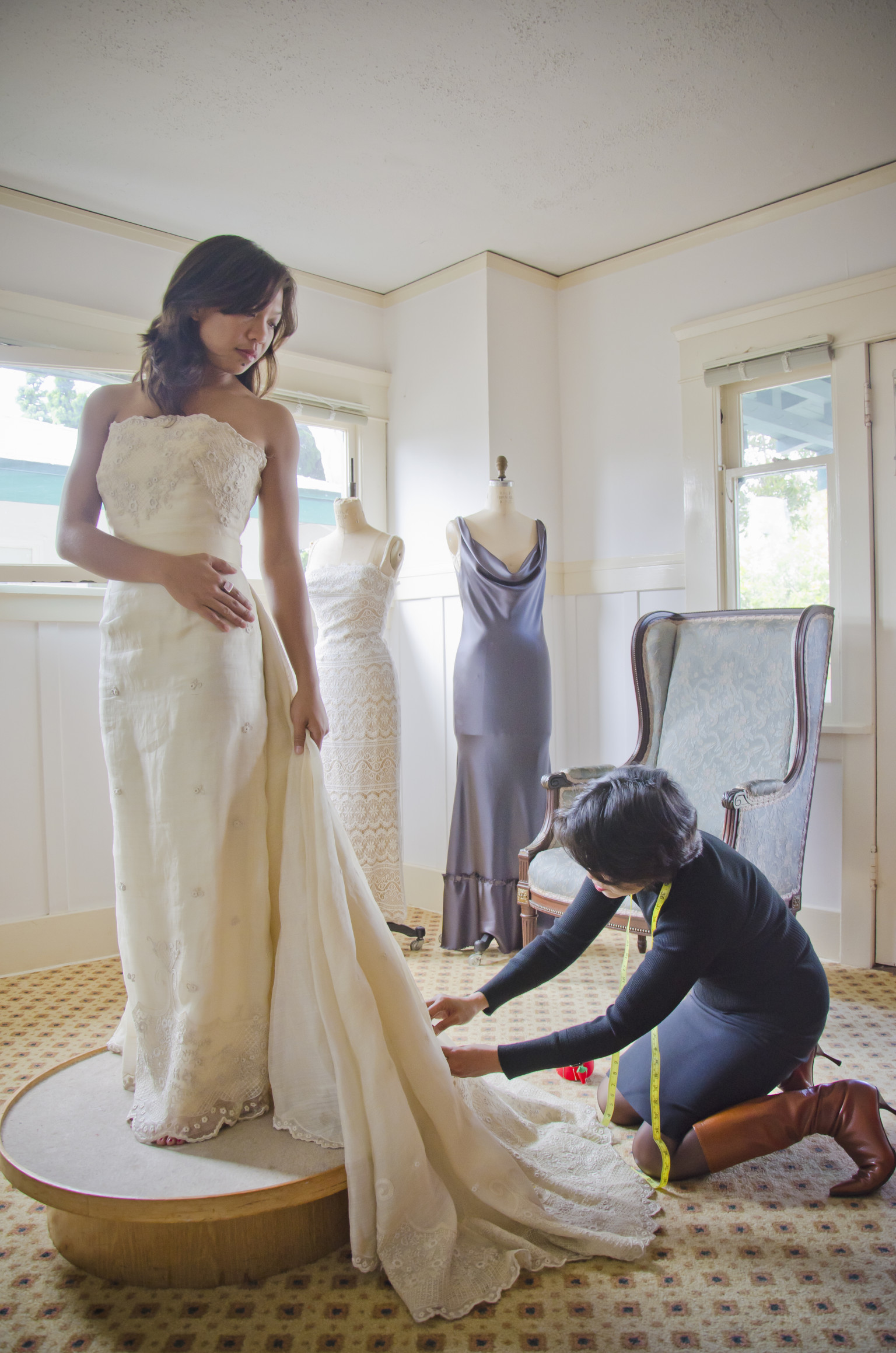 7 affordable ways to make your wedding gown look more