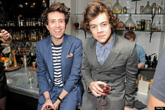 harry styles nick grimshaw