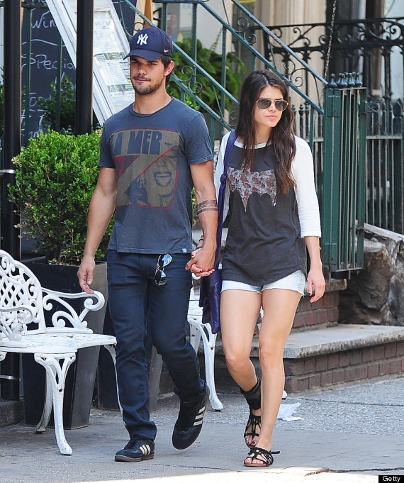 Taylor lautner is he dating anyone