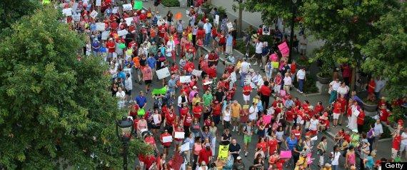 moral monday north carolina protest