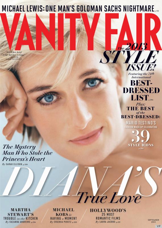 princess diana vanity fair