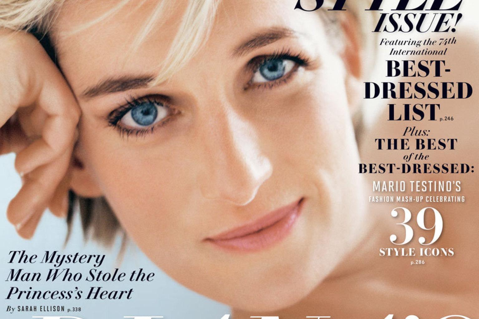 Princess Diana Covers Vanity Fair September 2013 Issue (PHOTO)