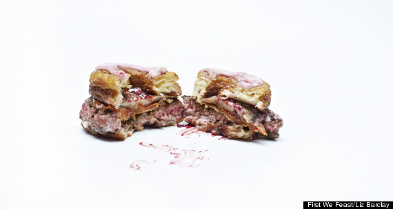Cronut And Umami Burger Mashup From First We Feast Is A Stroke Of