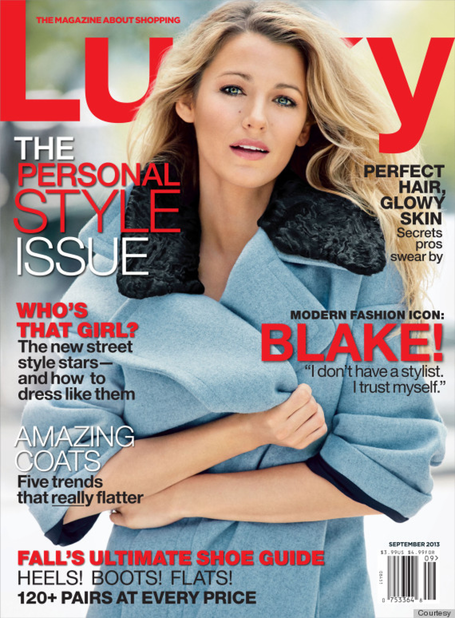 Lucky Magazine May 11: Blake Lively Talks Ryan Reynolds, Why Her Marriage Isn't A