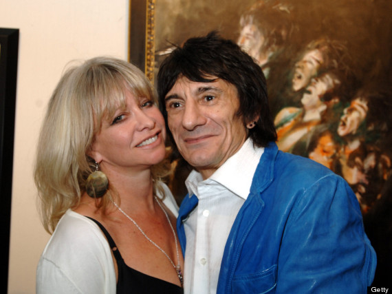 ronnie wood and jo wood