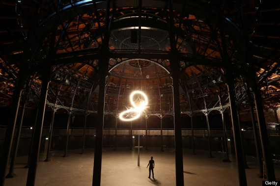 artist conrad shawcross turns the roundhouse into