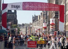 The Edinburgh Fringe - The Amazing Bubble Man Is... Well... Amazing!