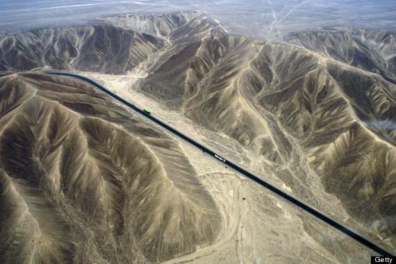 panamerican highway aerial