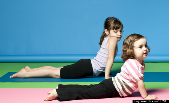 kids yoga poses are just as effective as the grown up