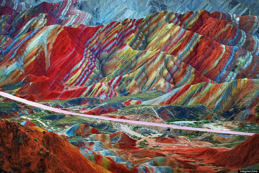 Image result for Zhangye Danxia Landform, Gansu, China