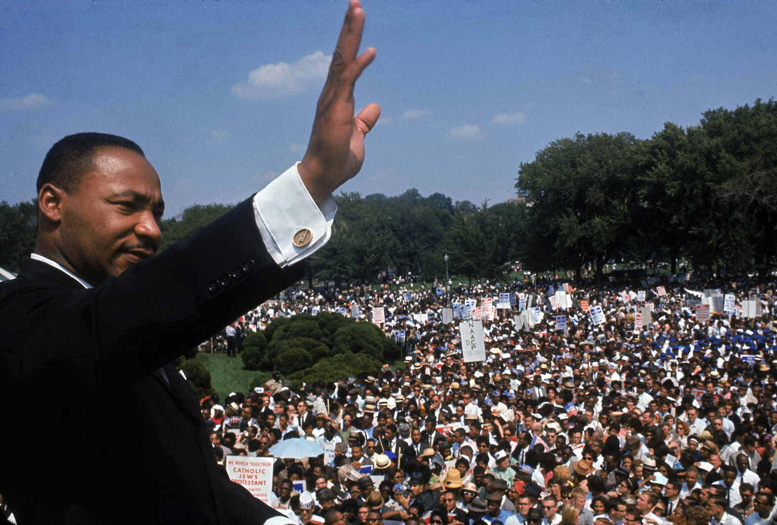 what year was the i have a dream speech written The rev bernice king opened the celebration of her father's famous i have a dream speech king's daughter launches celebration of his 'i years, but winfrey.